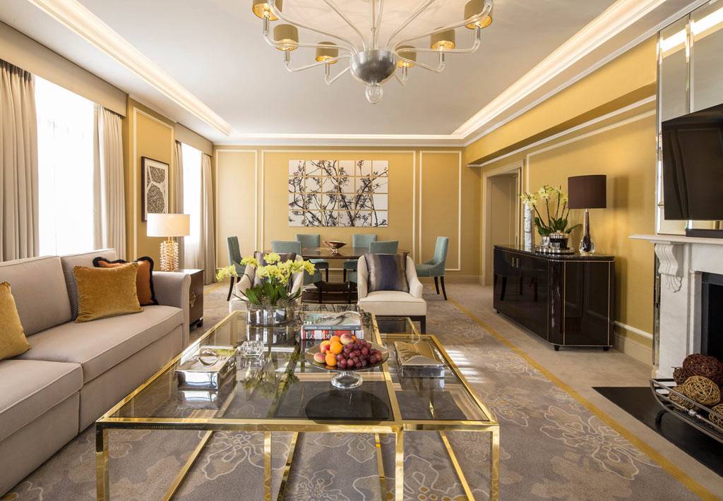 Suite at JW Marriott Grosvenor House, London, United Kingdom
