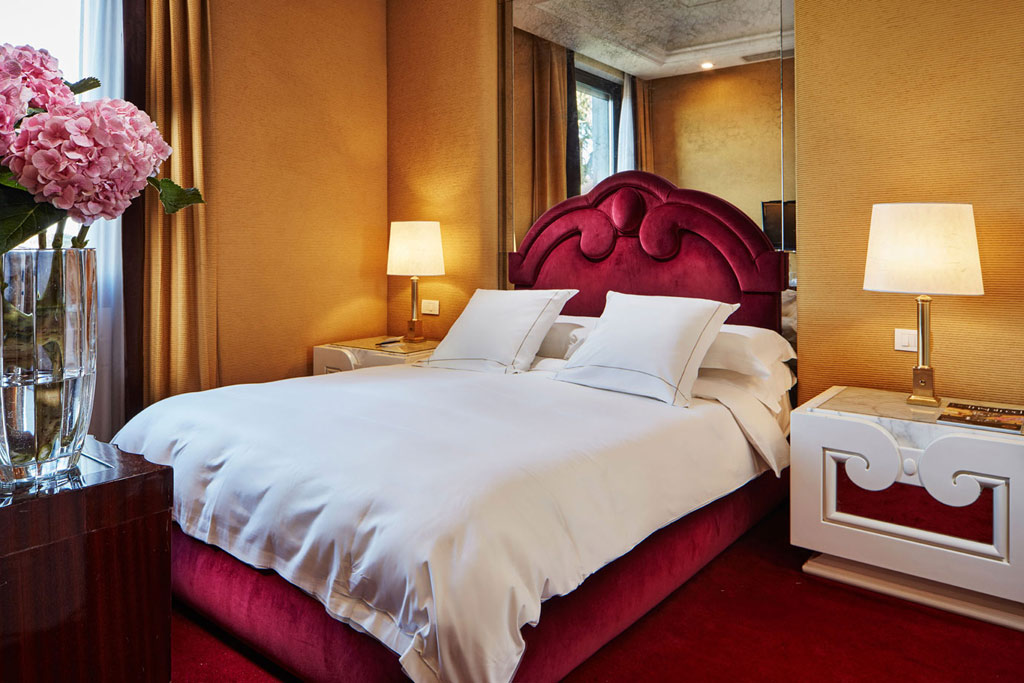 Guest Room at Lord Byron, Rome, Italy