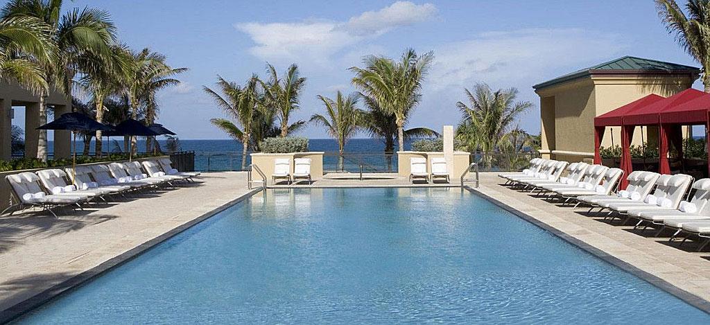 Outdoor Pool at Marriott Singer Island Beach Resort, Singer Island, FL