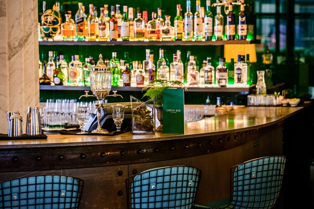 Green Bar at Cafe Royal Hotel, London, United Kingdom