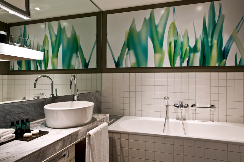 Guest Bath at Sofitel Hamburg Alter Wall, Hamburg, Germany
