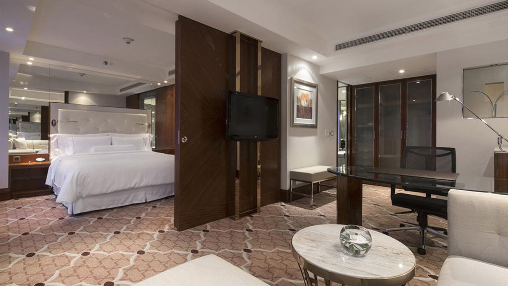 Guest Room at The Westin Bund Center, Shanghai, China