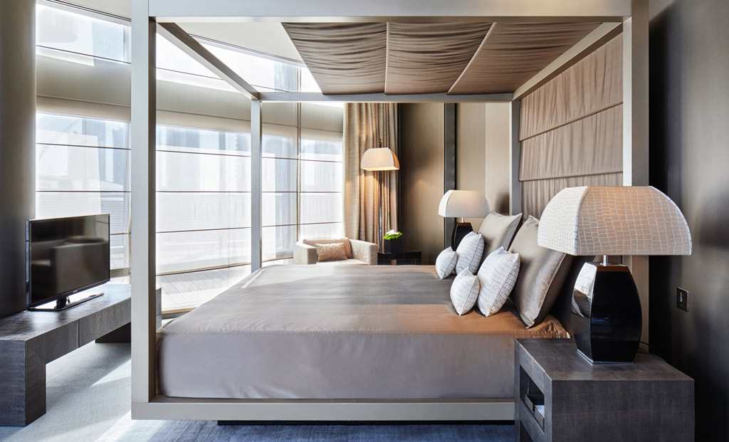 Honeymoon Suite at Armani Hotel Dubai, Dubai, United Arab Emirates