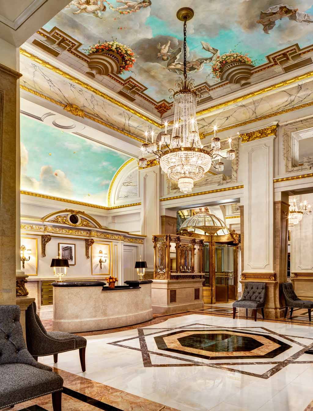 Lobby of The St Regis New York, NY, United States