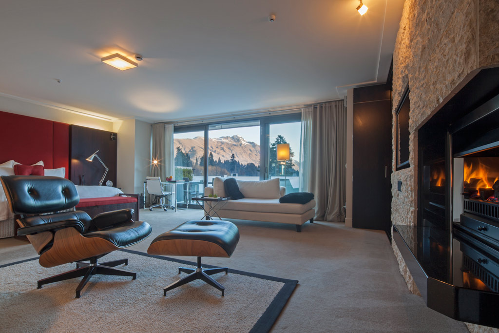 Suite at The Spire Hotel, Queenstown, New Zealand