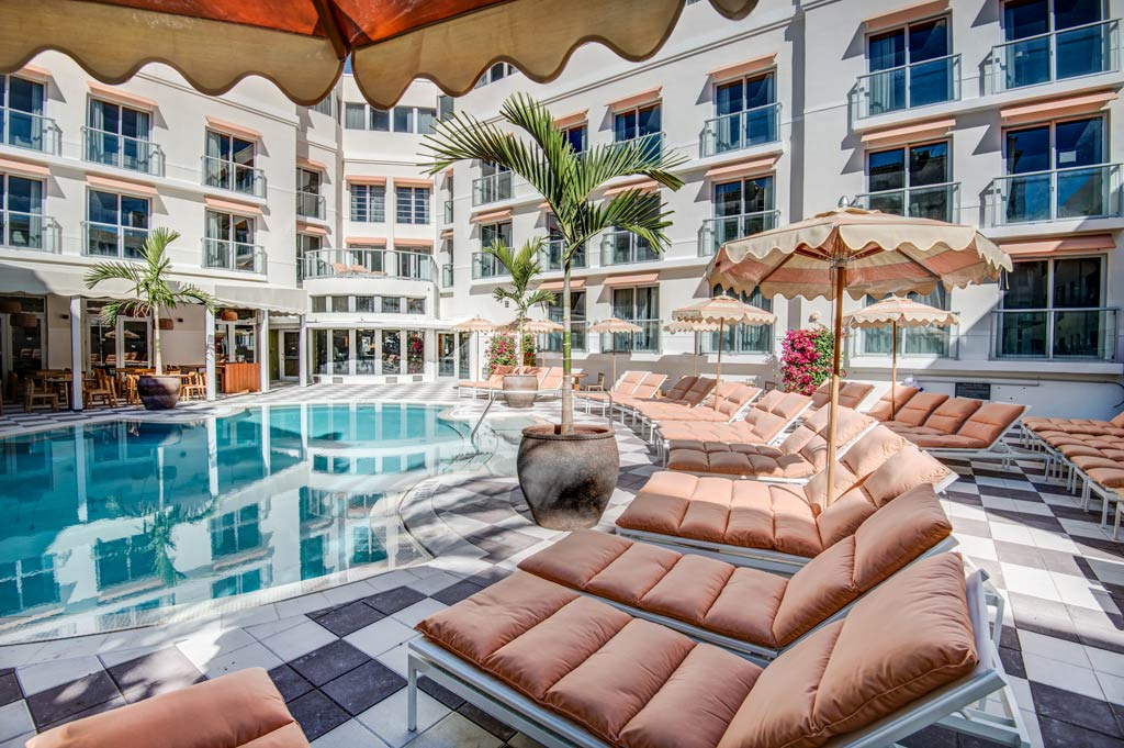 Pool at The Plymouth Hotel Miami