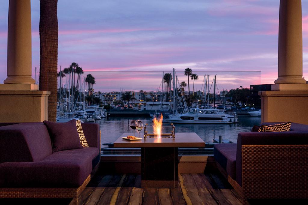 Lounge at Ritz Carlton Marina Del Rey, Marina Del Rey, CA