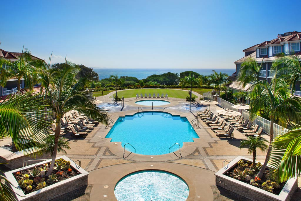 Outdoor Pool at Marriott Laguna Cliffs, Dana Point, CA