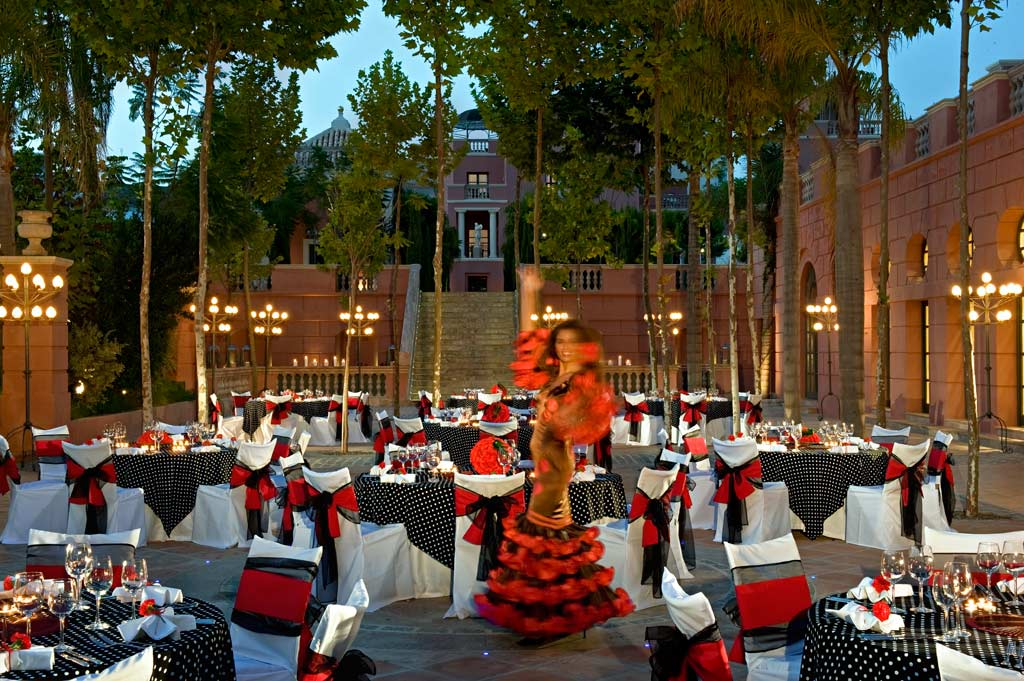 Terrace Dine at Hotel Villa Padierna, Marbella, Spain
