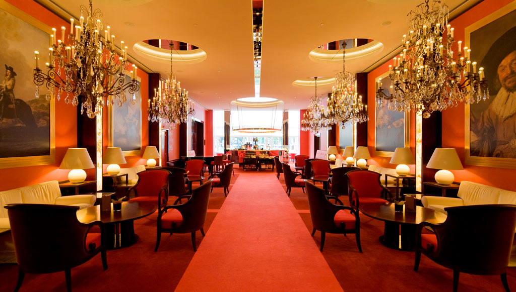 Lounge at Hotel De L'Europe, Amsterdam, Netherlands