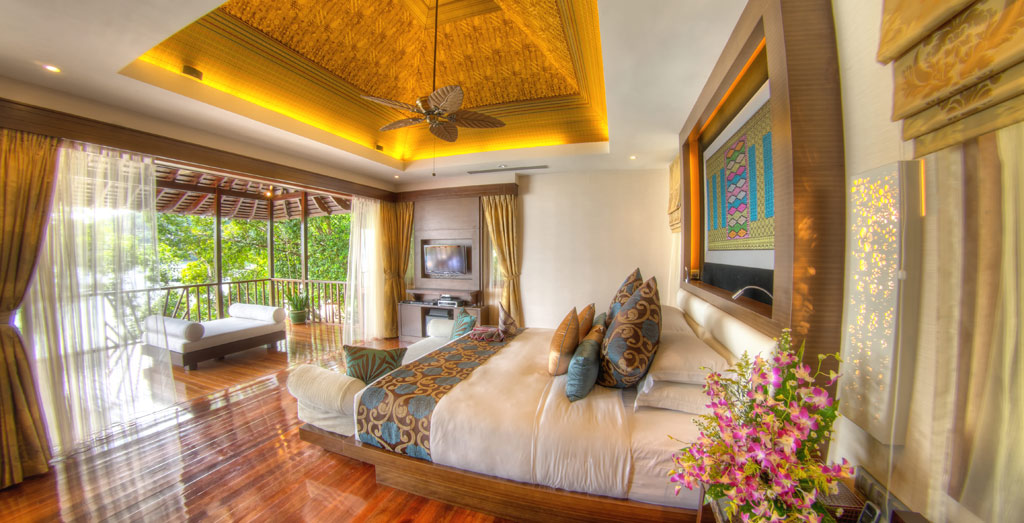 Royal Villa Guest Room at Bunga Raya Island Resort and Spa, Kota Kinabalu, Malaysia
