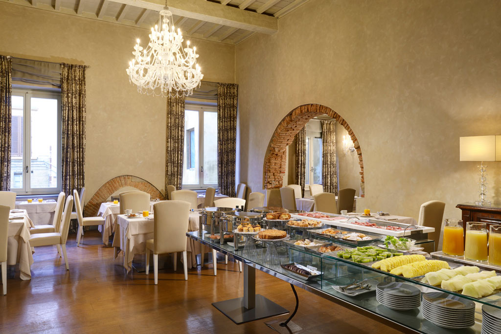 Breakfast at Brunelleschi Hotel Florence, Italy