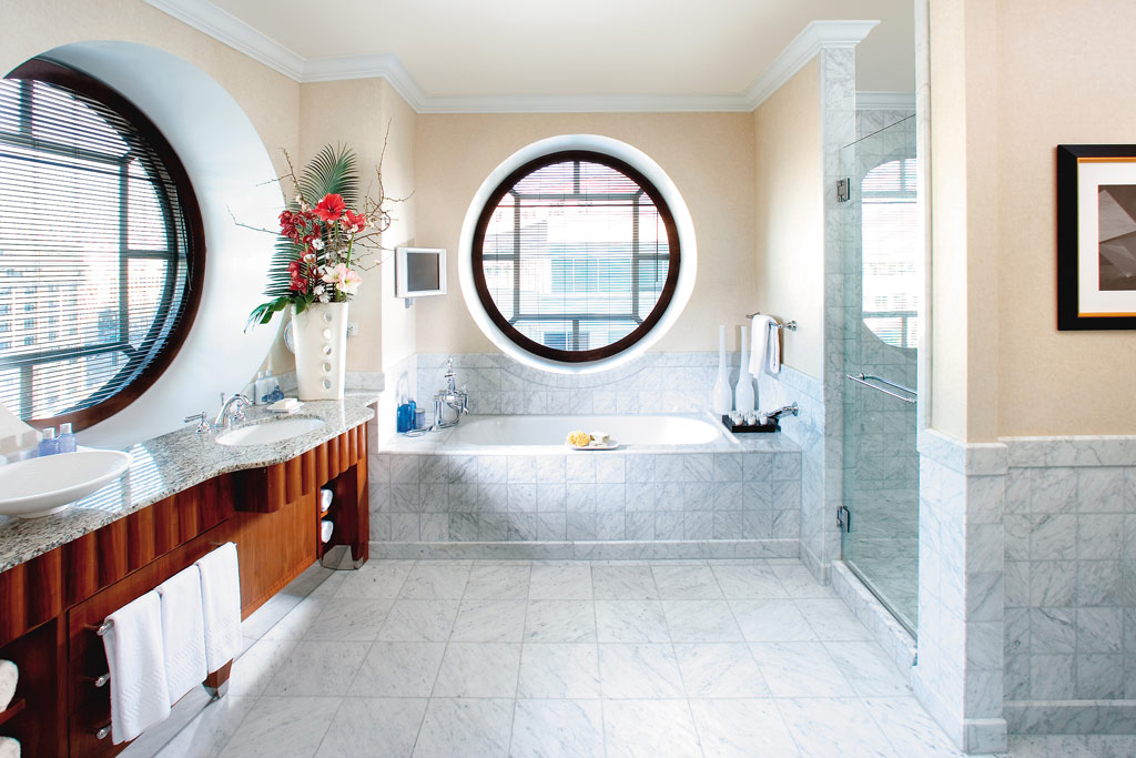 Mandarin Suite Bath at Mandarin Oriental Washington, DC, United States