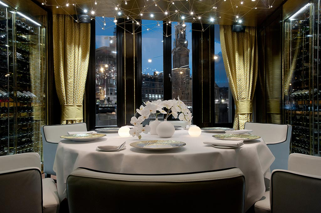 Private Dine at Hotel De L'Europe, Amsterdam, Netherlands