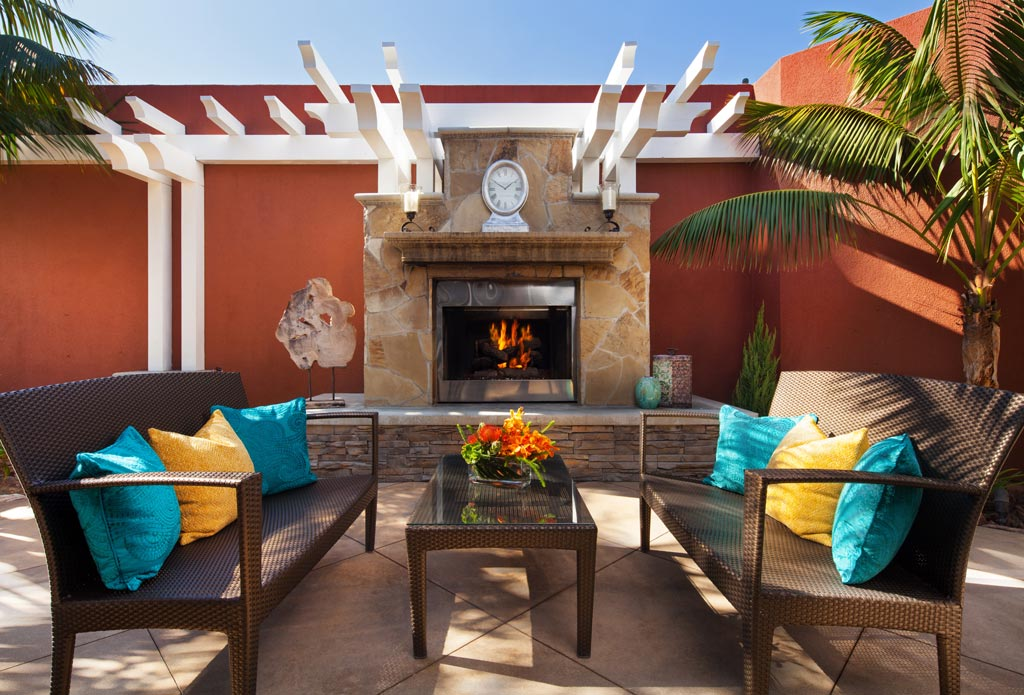Spa Lounge at Marriott Laguna Cliffs, Dana Point, CA