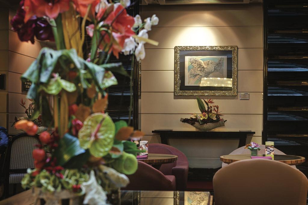 Lobby of Grand Hotel Via Veneto, Rome, Lazio, Italy