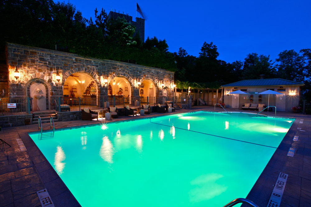 Outdoor pool at Castle Hotel and SpaTarrytownNY