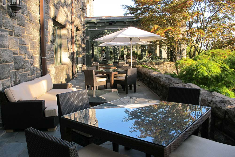 Equus Terrace at Castle Hotel and Spa, Tarrytown, NY