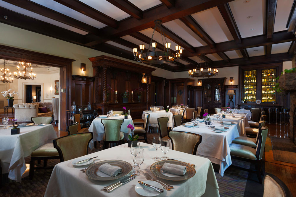 The Oak Room at Castle Hotel and Spa, Tarrytown, NY