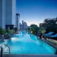 Pool at Banyan Tree Bangkok
