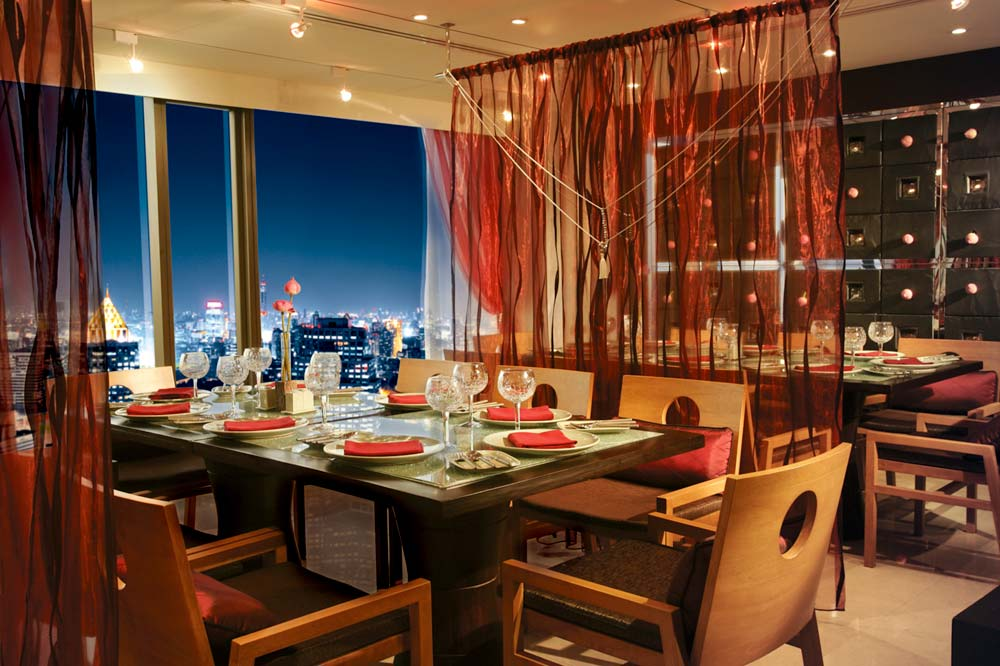 Saffron Restaurant at Banyan Tree Bangkok