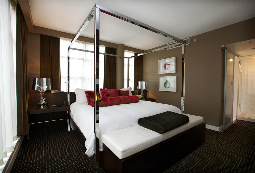 Suite Guestroom at Opus Hotel VancouverCanada