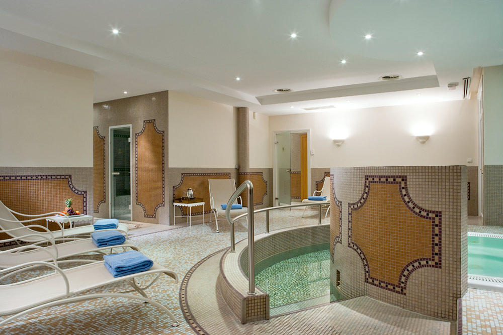 Spa at Hotel Chateau Grand Barrail Saint Emilion, France