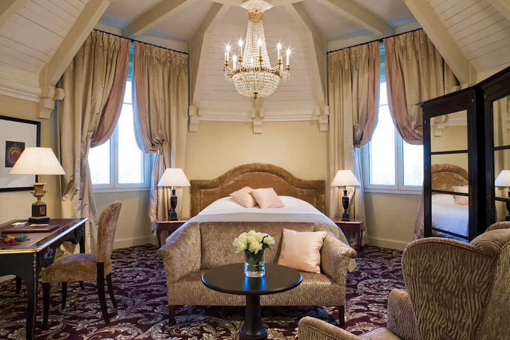 Castle Executive Room at Hotel Chateau Grand Barrail Saint Emilion, France
