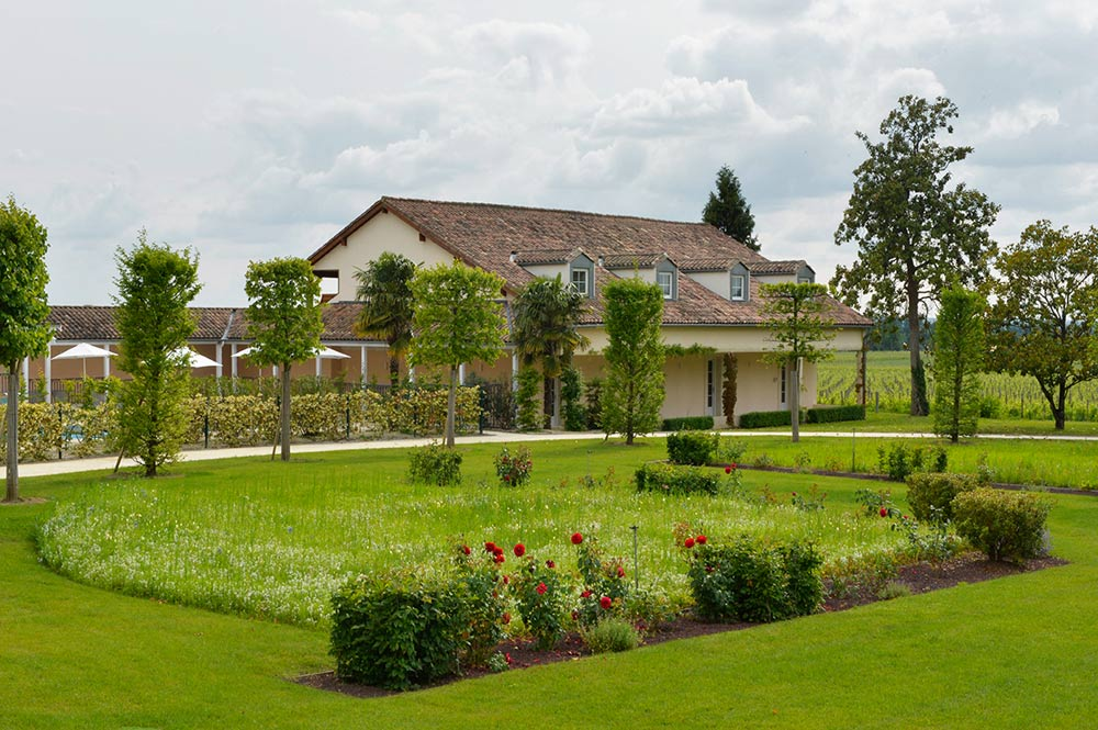 Vineyards House at Hotel Chateau Grand Barrail Saint Emilion, France