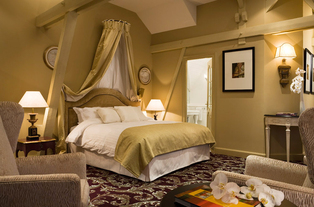 Castle Junior Suite at Hotel Chateau Grand Barrail Saint Emilion, France