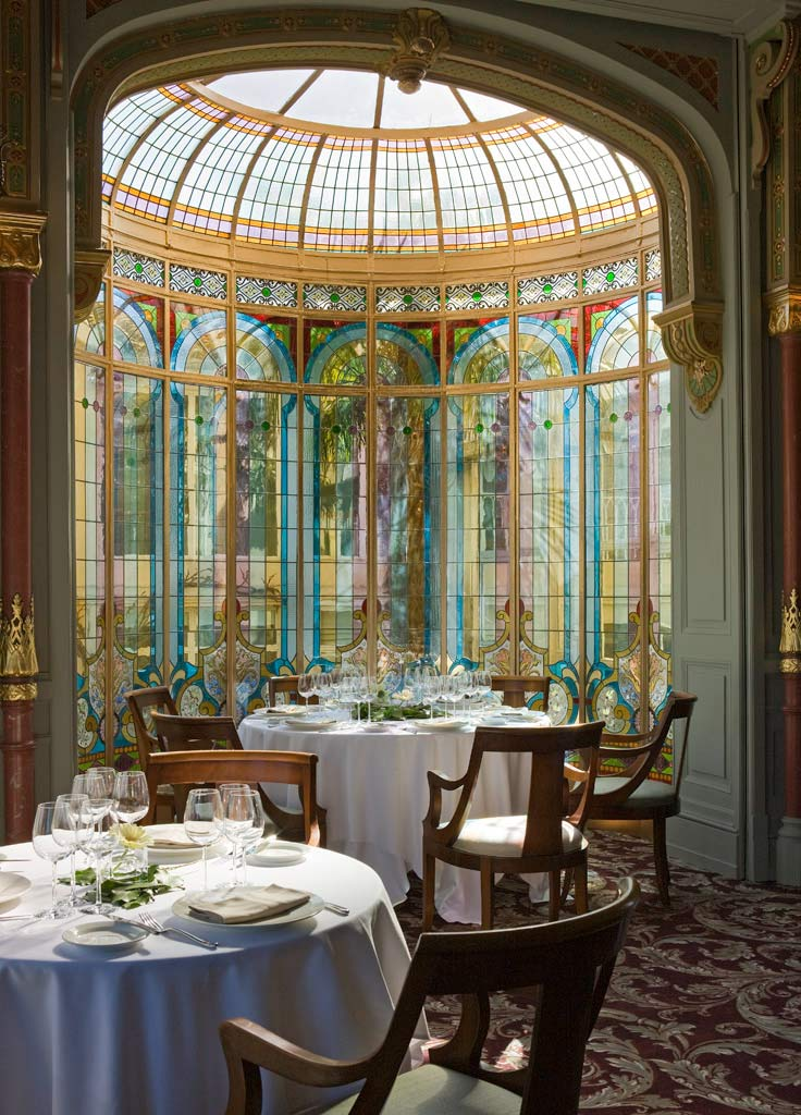 Restaurant Mauresque at Hotel Chateau Grand Barrail Saint Emilion, France