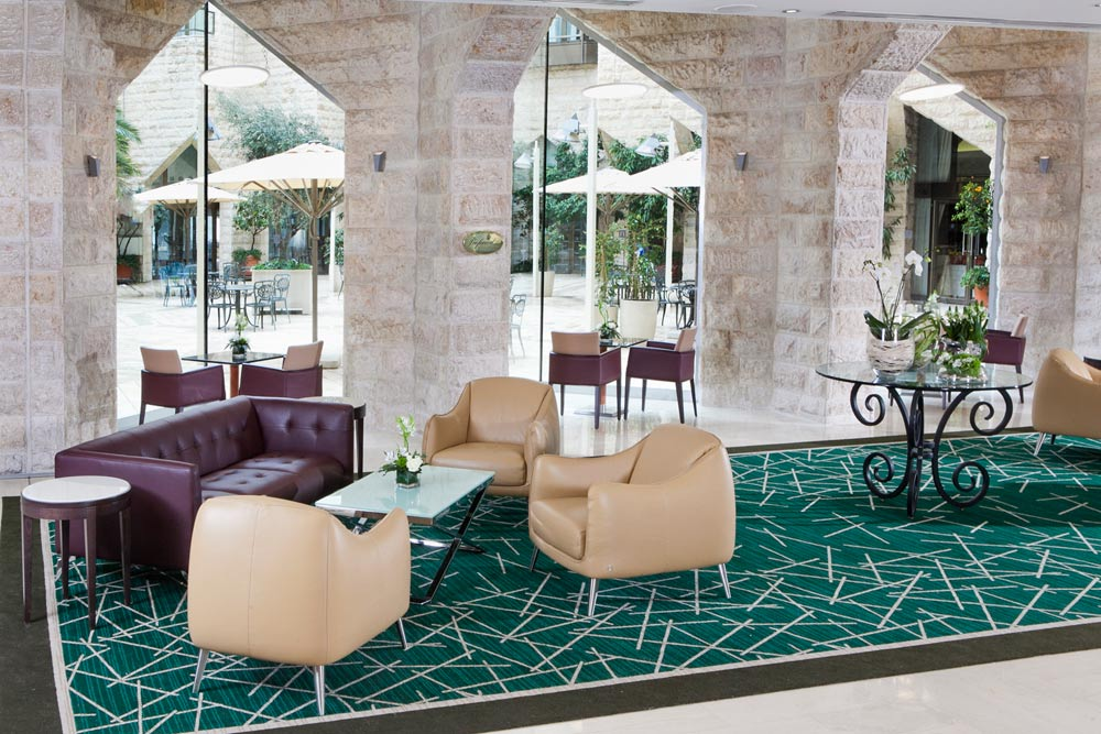 Lobby at Inbal Jerusalem