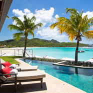 Waterlily Diamond Suite and Infinity Pool at Eden RockSaint Barthelemy