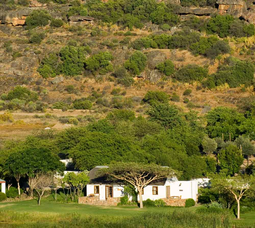 View of Bushman's Kloof Wilderness Reserve