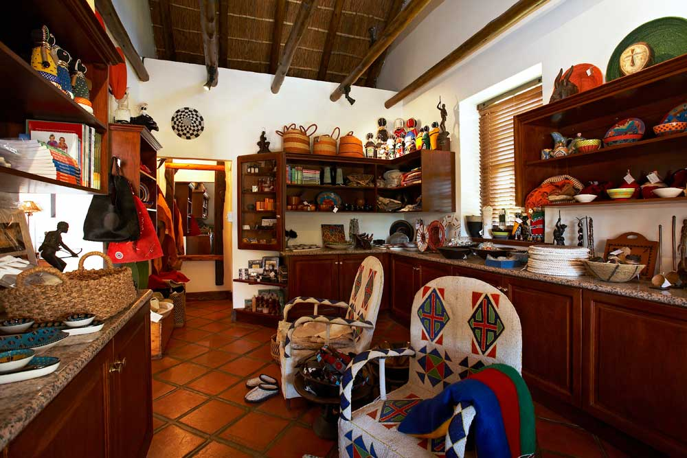 Curio Shop at Bushman's Kloof Wilderness Reserve
