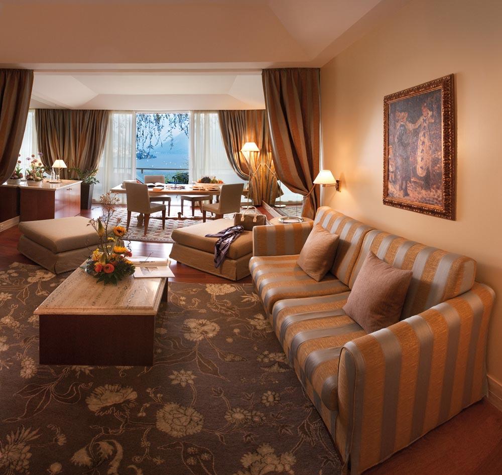 Villa Principe Leopoldo Suite Family Room, Switzerland