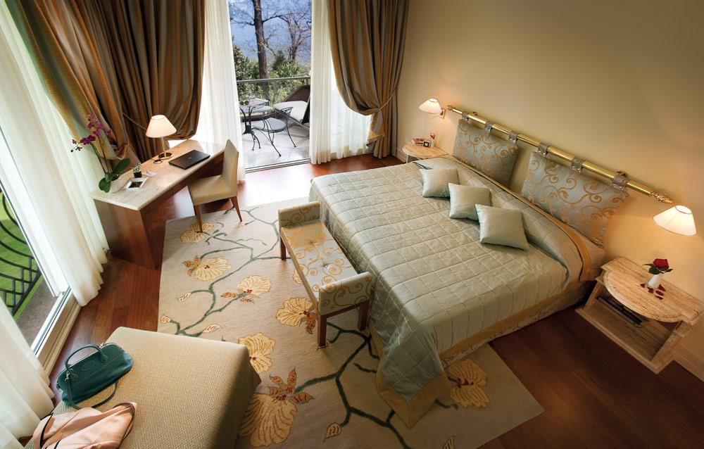 Villa Principe Leopoldo Guestroom, Switzerland