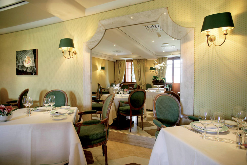 Villa Principe Leopoldo Dining Room, Switzerland
