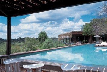 Pool at Lebombo Lodge