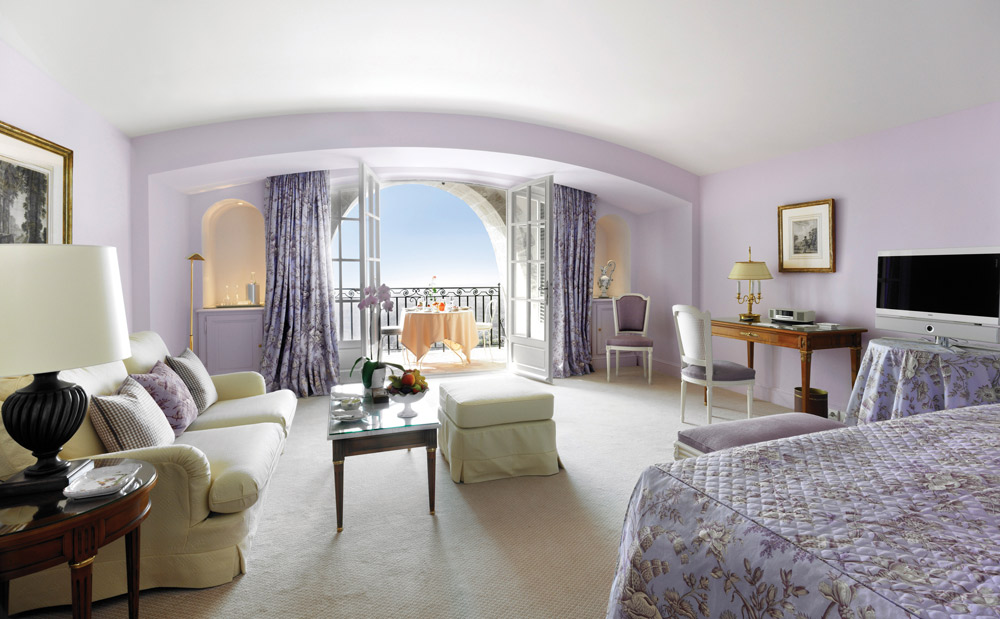 Suite Guestroom at Chateau Saint-Martin and Spa, Vence, France
