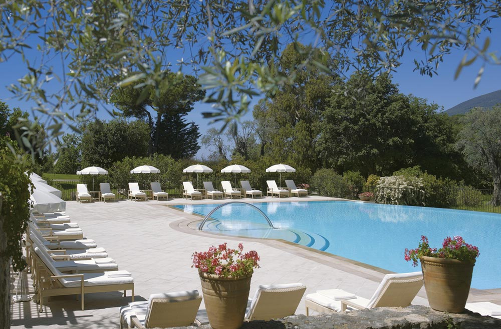 Outdoor Pool at Chateau Saint-Martin and Spa, Vence, France