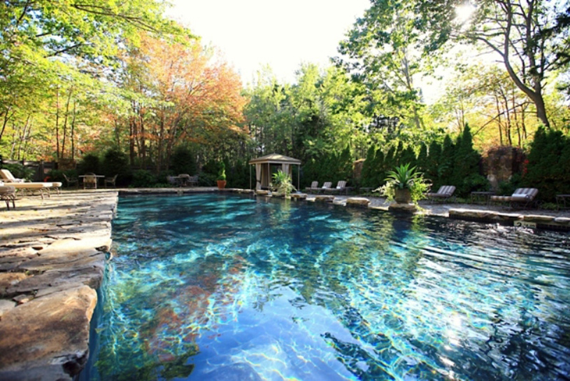 Pool at White Barn Inn