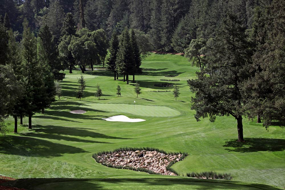 Golf Course at Meadowood Napa ValleyCA