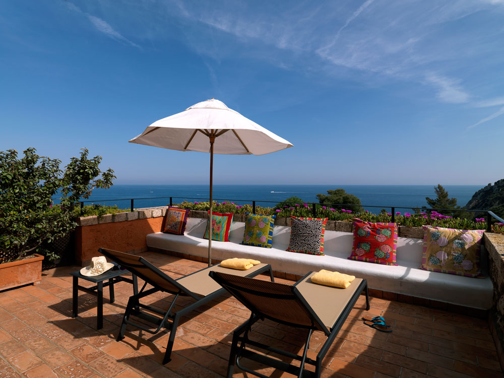 JR Suite Sea View Terrace at ll Pellicano, Italy