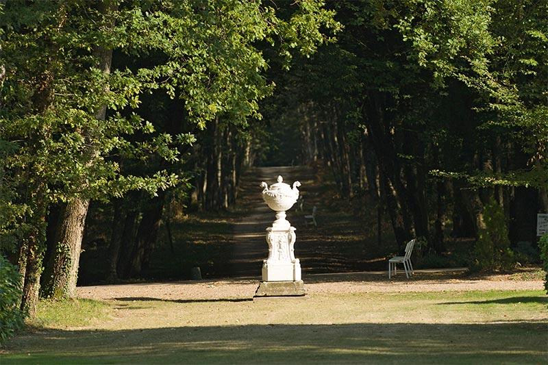 Domaine Des Hauts De Loire Park Pathway