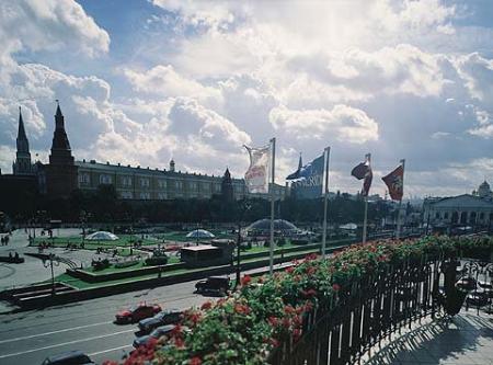 Kremlin & Manezhnaya Square View