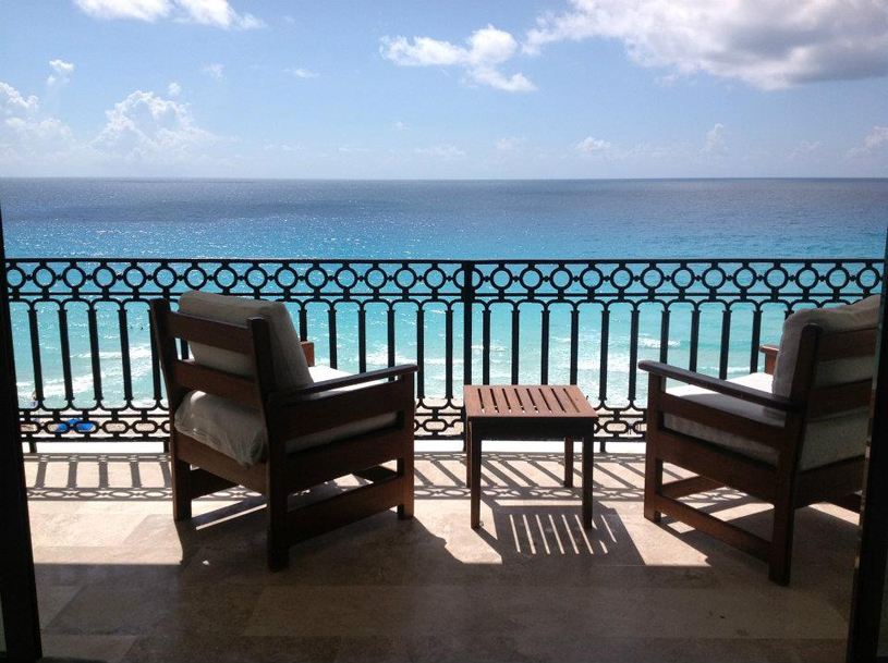 Sandos Cancun Luxury Experience Resort Deck View