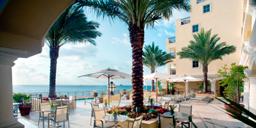 Terrace Dining at The AtlanticFlorida