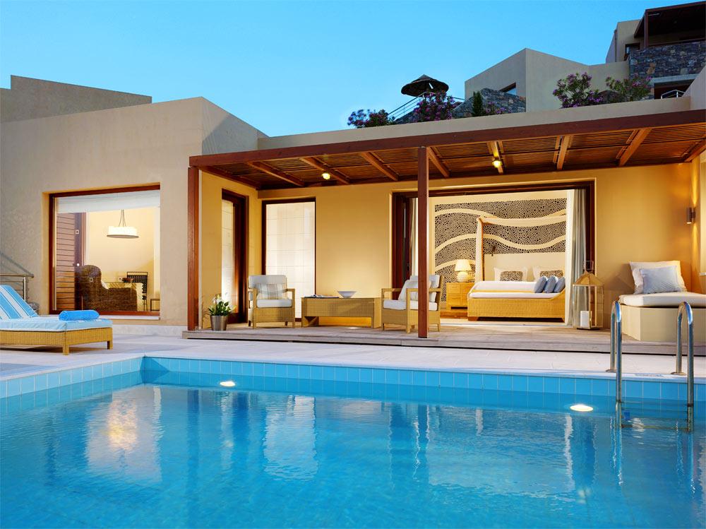 Pool Villa at Blue Palace Resort and Spa, Greece