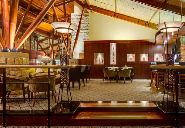 Bar at Arabella Hotel and Spa Cape TownSouth Africa